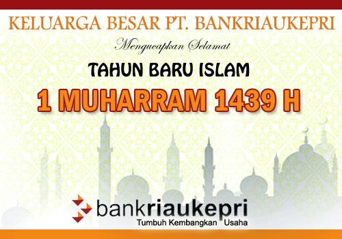 Bank Riau Kepri Tahun Baru Islam 1439H